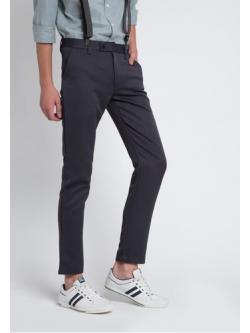 กางเกงสแลคผ้านาโน สีดำ