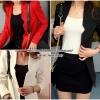 เสื้อสูทใส่ทำงานทรงเข้ารูป Blazer Women Jacket มี 3 สี
