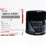 ใส้กรองน้ำมันเครื่องแท้ 16 วาล์ว Toyota VIOS 1.5, YARIS 1.5, ALTIS, AE100, COROLLA No.90915-YZZE1