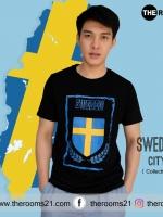 เสื้อยืด SWEDEN