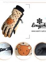 ถุงมือสกีเด็ก 5-12 ขวบ แบบที่ 1
