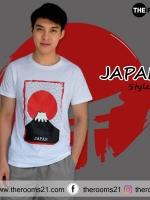 เสื้อยืด Japan City collection
