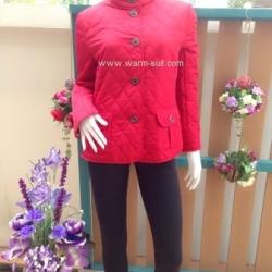 เสื้อโค้ทสีแดง งาน burberry 2