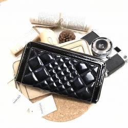 MANGO / MNG Touch Long Wallet-ดำ