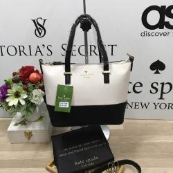 Kate Spade New York Cedar steet Harmony Body Bag-เบจดำ