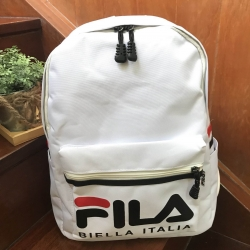 FILA POLYESTER CANVAS BACKPACK *สีขาว