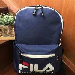 FILA POLYESTER CANVAS BACKPACK *สีน้ำเงิน
