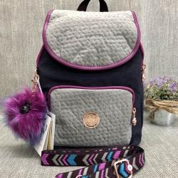 Kipling backpack17 printed shoulder