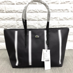 Lacoste pvc pu split cow lether bag