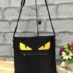 Fendi little monster eyes mini tote bag