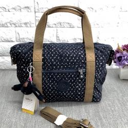 Kipling Handbag/Shoulderbag//k13848 *สีกรมลายจุด