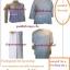 ชุดขาวแม่ชีแท้ครบชุด รัตนาภรณ์ (เบอร์4) thumbnail 2