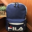 FILA POLYESTER CANVAS BACKPACK *สีน้ำเงิน thumbnail 1
