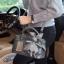 David Jones กระเป๋าสะพายข้างดีไซน์เกร๋ *สี Metallic grey thumbnail 4