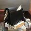 CHARLES & KEITH ASYMMETRIC FRONT FLAP BAG *สีดำ thumbnail 3