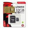 Memory Card microSDHC Kingston 32 GB Class 10