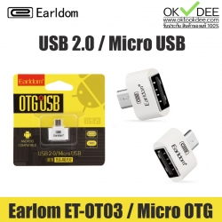 Earldom ET-OT03 USB OTG USB2.0 To Micro USB