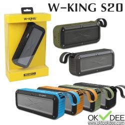 ลำโพงบลูทูธ W-KING S20 IPX6 Waterproof HiFi Bluetooth Speaker