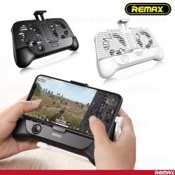 Remax RT-EM01 จอยเกมส์ + พัดลมระบายความร้อน + พาวเวอร์แบงค์ในตัว
