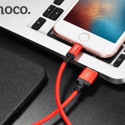 Hoco X14 Lightning ชาร์จ iPhone ยาว 1 - 2 เมตร