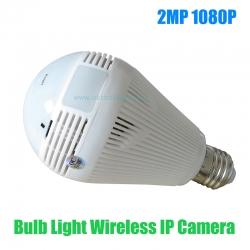 กล้องหลอดไฟวงจรปิด 360 องศา IP Camera 2MP 1080P 3D VR