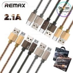 สายชาร์จ 1 เมตร 2.1A Remax RC-110