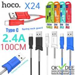 Hoco X24 Pisce charging data cable for Type C