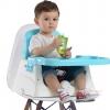 เก้าอี้ ที่นั่งเอนกประสงค์สำหรับเด็ก เก้าอี้กินข้าวปรับระดับได้ สีฟ้า เก้าอี้กินข้าวสำหรับเด็ก