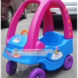 รถขาไถ รถขาไถนักสิบน้อย สีชมพู
