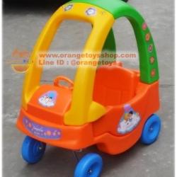 รถขาไถ รถขาไถนักสิบน้อย สีส้ม