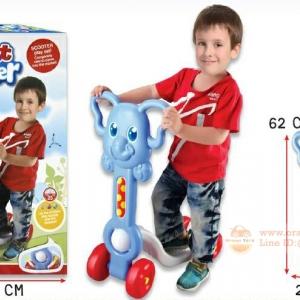 สกู๊ตเตอร์ (scooter) สกู๊ตเตอร์ สำหรับเด็ก รถสกู๊ตเตอร์ สำหรับเด็ก ช้างน้อยสีฟ้า