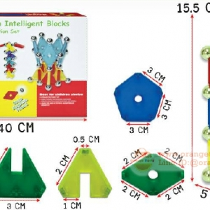 (Magical Magnet) ชุดบล็อค ตัวต่อแม่เหล็ก 79 ชิ้น GT-1166 Magnetic magic stick