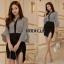 เสื้อผ้าเกาหลี พร้อมส่ง ชุดเซ็ต เสื้อ + กระโปรง thumbnail 6