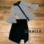 เสื้อผ้าเกาหลี พร้อมส่ง ชุดเซ็ต เสื้อ + กระโปรง thumbnail 8
