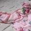ชุดเดรสเกาหลี พร้อมส่ง เดรสเปิดไหล่ ลายดอกไม้สีหวาน thumbnail 7