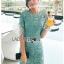 เดรสเกาหลี พร้อมส่ง เดรสผ้าลูกไม้ สีเขียวมิ้นท์อ่อน thumbnail 11