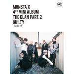 [Pre] Monsta X : 4th Mini Album - THE CLAN 2.5 PART.2 GUILTY (INNOCENT Ver.) +Poster