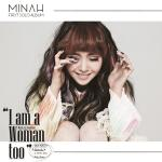 [Pre] Minah : 1st Mini Album - I'm A Woman Too (SMC Card Ver.)