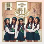 [Pre] APRIL : 1st Single Album - Boing Boing +Poster