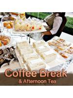 รับจัดคอฟฟี่เบรค ซุ้มเครื่องดื่ม เบเกอรี่ ขนม Coffee Break & Afternoon Tea