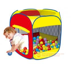 (บ้านบอลเด็ก) บ้านบอล 6 เหลี่ยม 381861/833-27