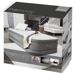 Intex 64472 Premaire Luftbett mit Fiber Tech Technologie Twin Size ca. 99 x 191 x 46 cm