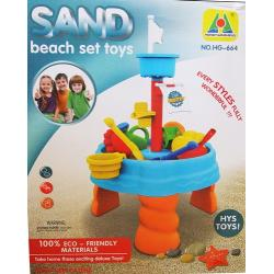 โต๊ะเล่นทราย หอคอย