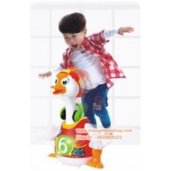 Huile Toys น้องเป็ด ร้องเพลง เต้นได้ Music Toy 828 goose swing