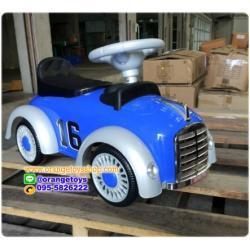 รถขาไถ รถโบราณ สุดเท่ห์ ใหม่ล่าสุด โฟล์คโบราณ มีเสียงเพลง พร้อมส่งสีน้ำเงิน