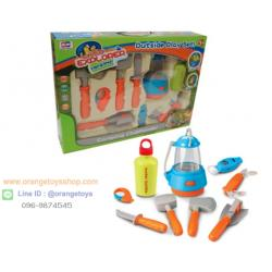 ชุดเดินป่า กลางคืน Berry Toys Little Explorer 9-Piece Essential Camping Play Set