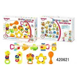 ของเล่นเด็กอ่อน เขย่ามือสำหรับเด็ก ชุดสัตว์น้ำ กล่องใหญ่ WS420621