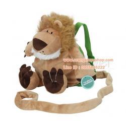 กระเป๋าเป้จูงกันเด็กหลง ลายสัตว์ Animal Planet Bear Backpack Harness ลายสิงโต เป้จูงเด็ก
