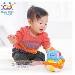 Huile Toys ช้างน้อยโยกเยก ของเล่นเด็กอ่อน Sliding Animals สัตว์น้อยโยกเยก