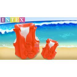 เสื้อชูชีพ เด็ก สีส้ม Intex Childs Inflatable Swimming Life Jacket - 58671